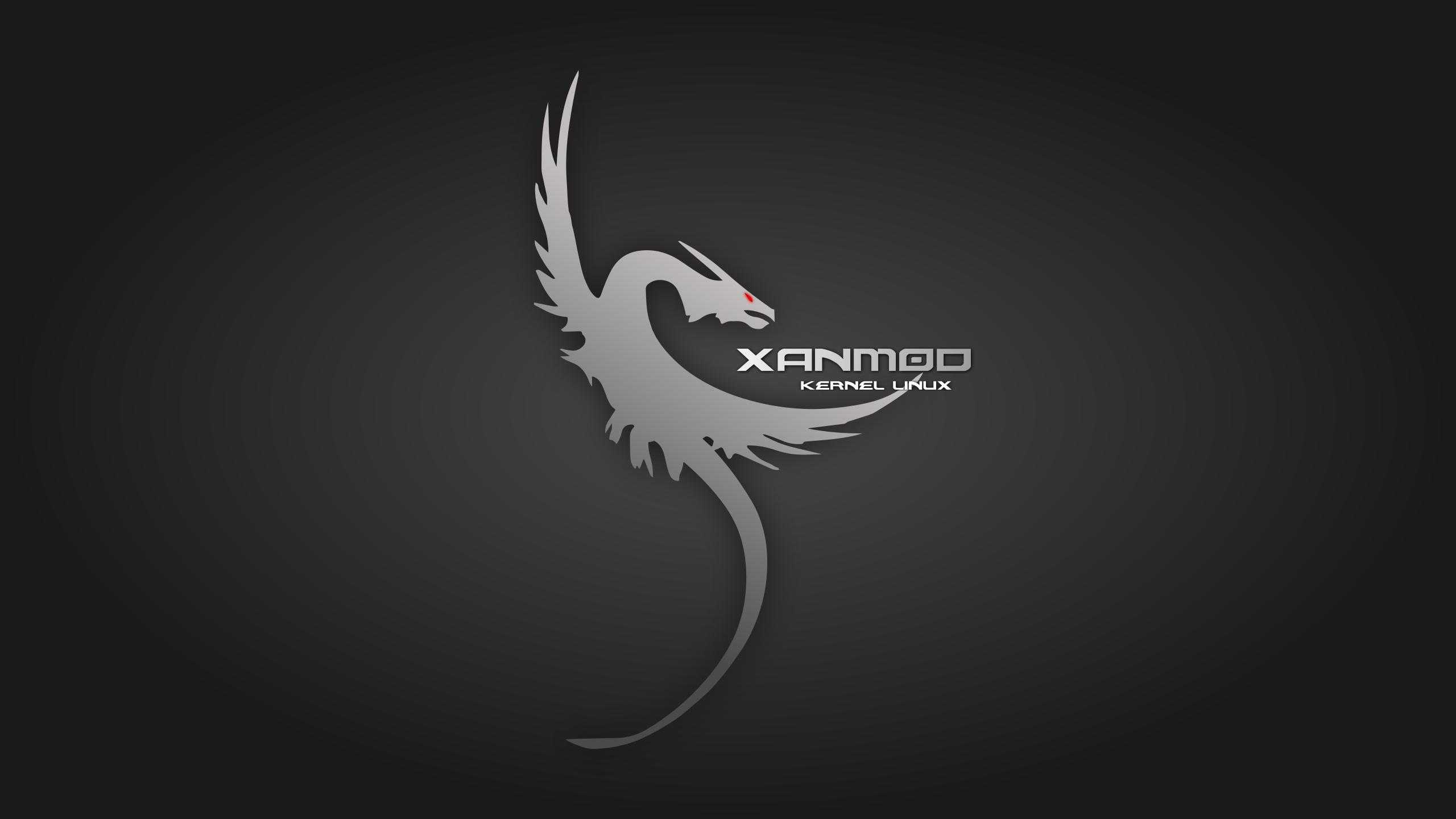 Logo do dragão do XanMod Kernel